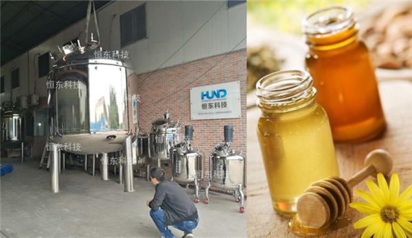 搅拌罐在止咳糖浆生产线上的运用