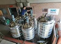广州客户定制不锈钢搅拌罐发货完成