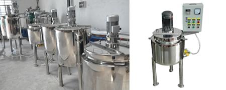 乳化罐和搅拌罐的区别