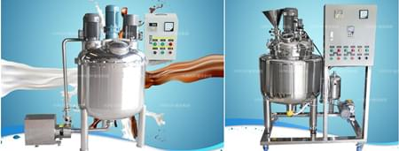高剪切乳化机加热冷却的注意事项