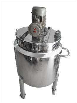 电加热分散搅拌桶