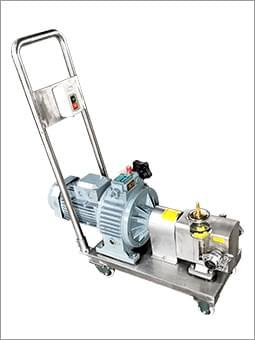 凸轮转子泵带推车