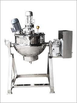 乳化搅拌电加热夹层锅