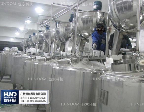 炼乳生产设备及生产步骤