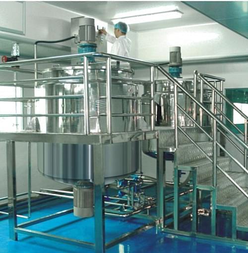 恒东搅拌罐在日用化工品的应用