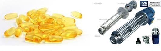 化胶罐、乳化机在软胶囊生产上的应用