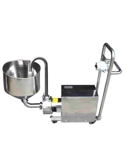 高剪切间歇式乳化泵-移动型