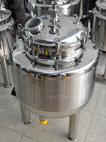 磁力搅拌三层保温罐