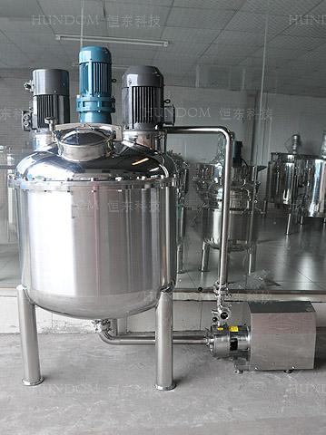 不锈钢循环高剪切乳化罐