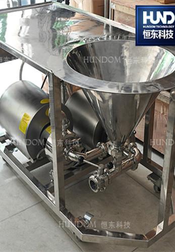 WPL型高效乳化配料机