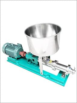 不锈钢螺杆泵(带漏斗)