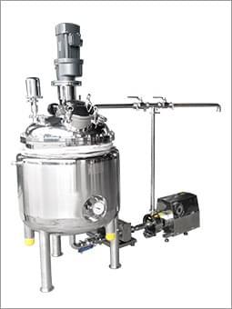 不锈钢搅拌罐组合(乳化泵转子泵)