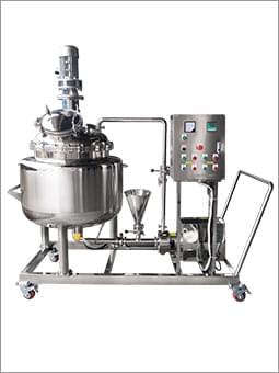 不锈钢乳化泵搅拌罐组合