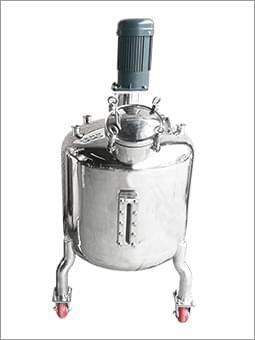 不锈钢密封单层搅拌罐