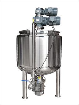 三层蒸汽加热搅拌乳化罐