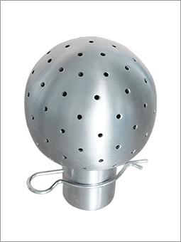不锈钢固定清洗球插销式