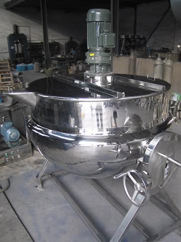 电加热夹层锅