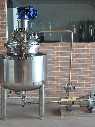 高浓度循环乳化桶