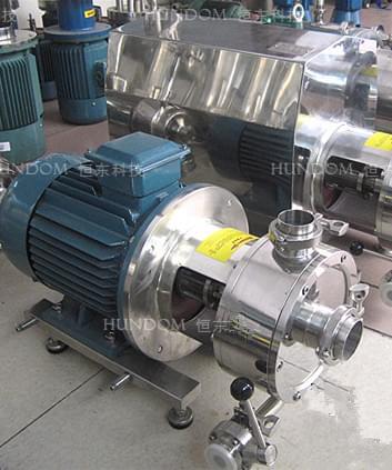 高剪切乳化泵1级