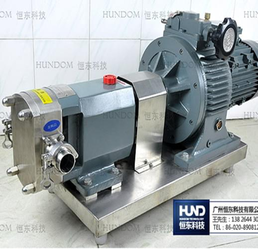 不锈钢移动转子泵