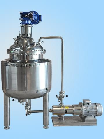 循环乳化罐组合
