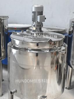 双层电加热搅拌桶