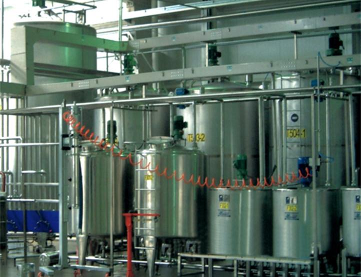 罐体在乳酸饮料生产线上的运用